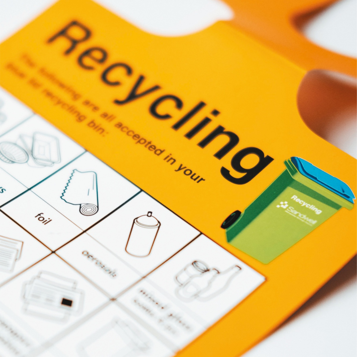 Recycling and Waste Control Signs